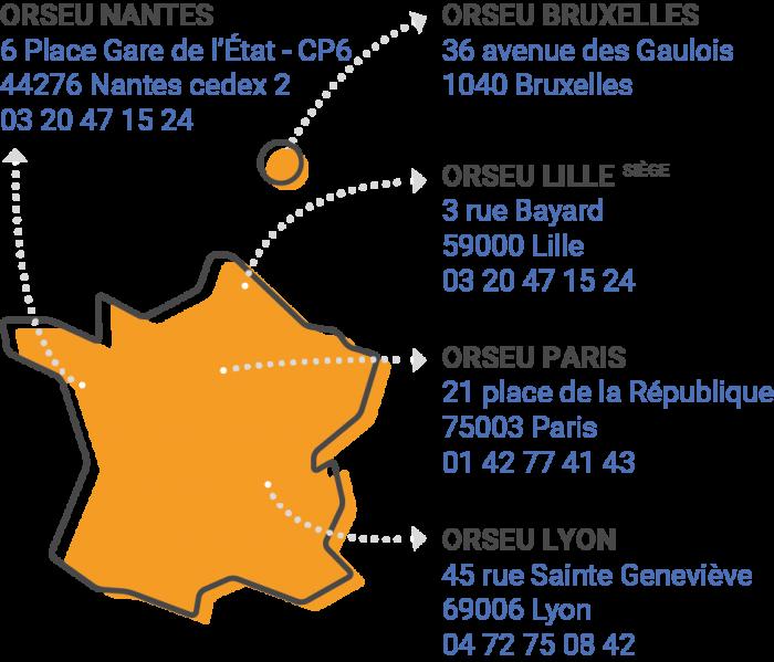Implantation Orseu france